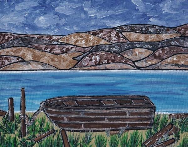 Painting - Fraser River British Columbia by Barbara St Jean
