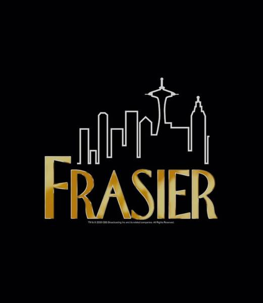 Tv Wall Art - Digital Art - Frasier - Frasier Logo by Brand A