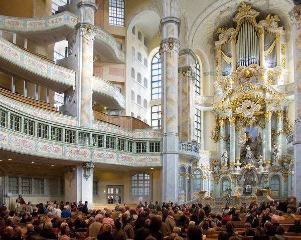 Frauenkirche Art Print