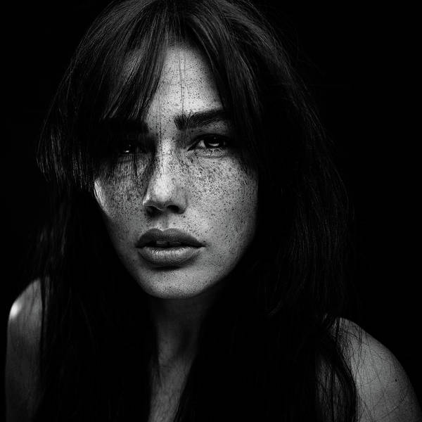 Wall Art - Photograph - Freckles [romi] by Martin Krystynek Qep