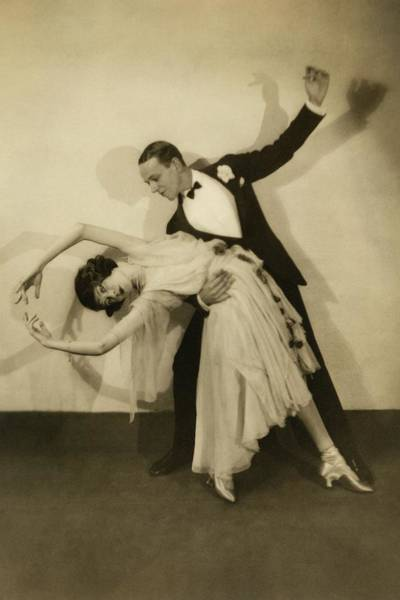 Bending Over Photograph - Fred Astaire by Edward Steichen