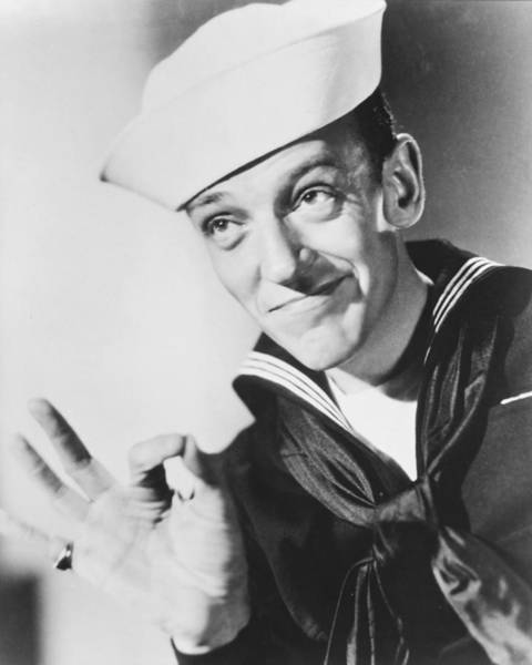 Follow Wall Art - Photograph - Fred Astaire In Follow The Fleet  by Silver Screen