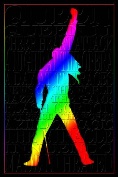 Freddie Mercury 2 Art Print