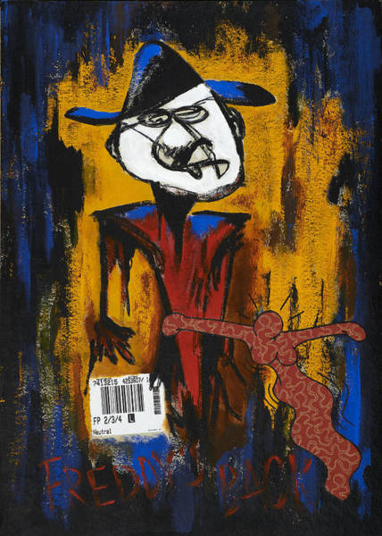 Nightmare On Elm Street Painting - Freddie's Back by Tony Nilsson
