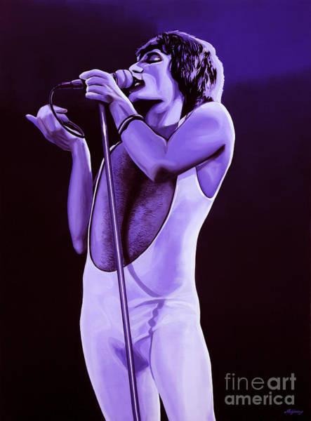 Vocalist Wall Art - Painting - Freddie Mercury Of Queen by Paul Meijering