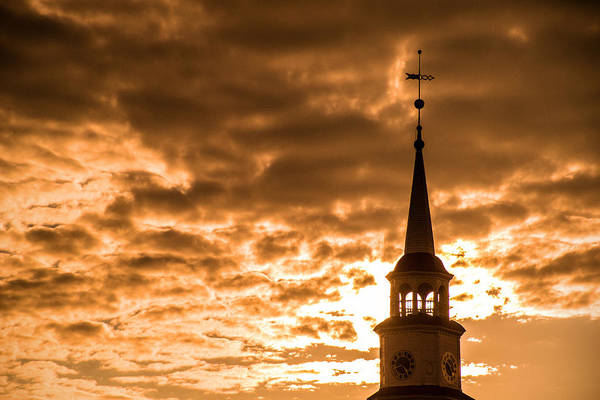 Photograph - Frederick Church Spire by Don Johnson