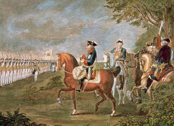 Frederick II The Great (1712-1786 Art Print