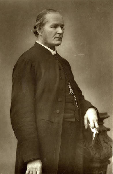 William And Mary Photograph - Frederick William Farrar (1831-1903) by Mary Evans Picture Library