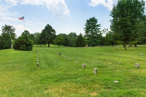 Photograph - Fredericksburg National Cemetery by John M Bailey
