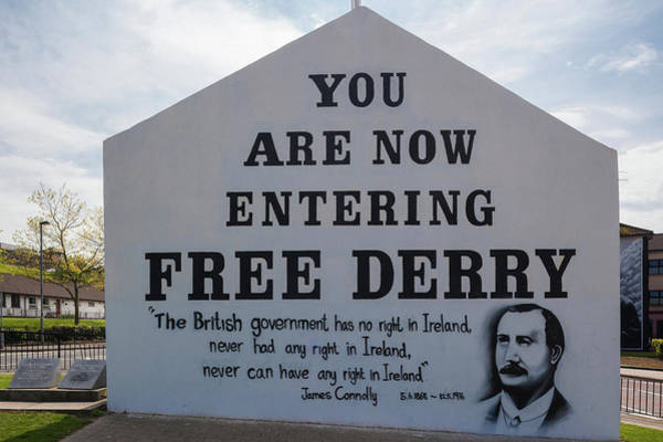 Republican Photograph - Free Derry Corner, Republican Political by Panoramic Images