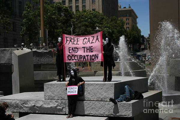 Photograph - Free Gaza by Cynthia Marcopulos