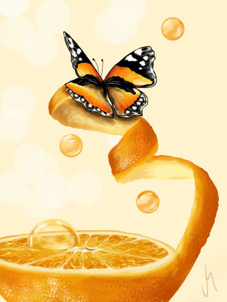 Closeup Painting - Free Play by Veronica Minozzi