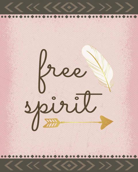 Wall Art - Painting - Free Spirit by Nd Art & Design