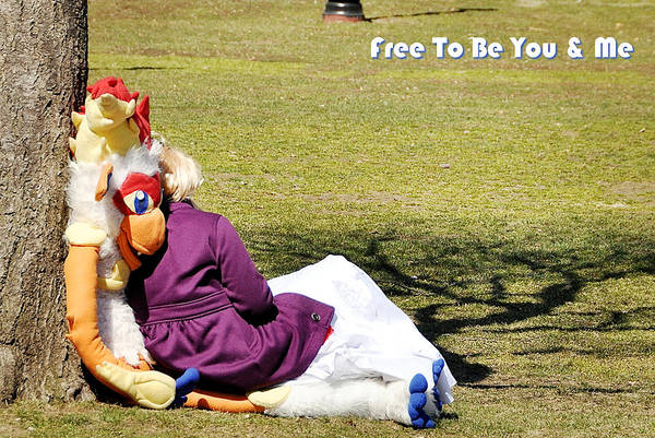 Photograph - Free To Be You And Me by Joanne Brown