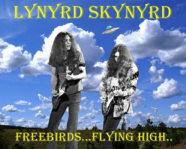 Freebirds Flying High Art Print