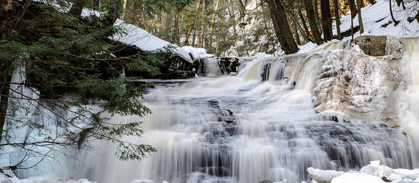 Wall Art - Photograph - Freedom Falls Winter by Anthony Thomas