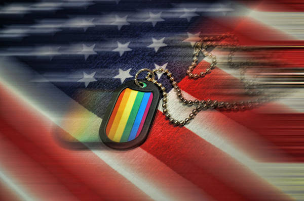 Gay Pride Flag Photograph - Freedom For All by Jes Fritze