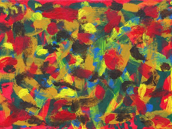 Primary Colors Mixed Media - Freedom by Luz Elena Aponte
