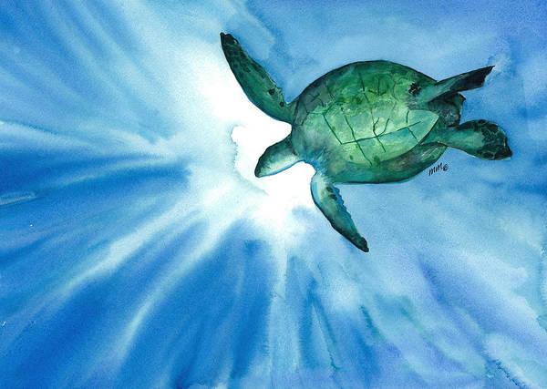 Sea Tutrle 2 Art Print