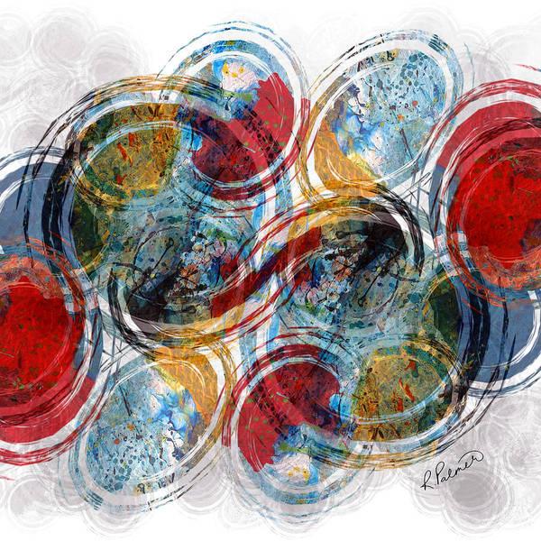 Oval Digital Art - Freedom by Ruth Palmer