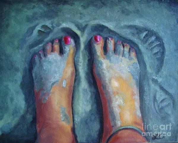 Double Helix Painting - Freedom - The Path Less Traveled by Osborne Lorlinda