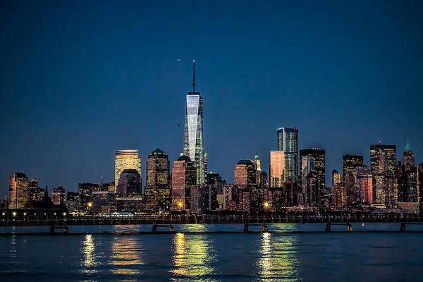 Photograph - Freedom Tower As Seen From Liberty State Park by Eleanor Abramson