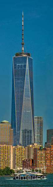 Photograph - Freedom Tower- Vertical by Nick Zelinsky