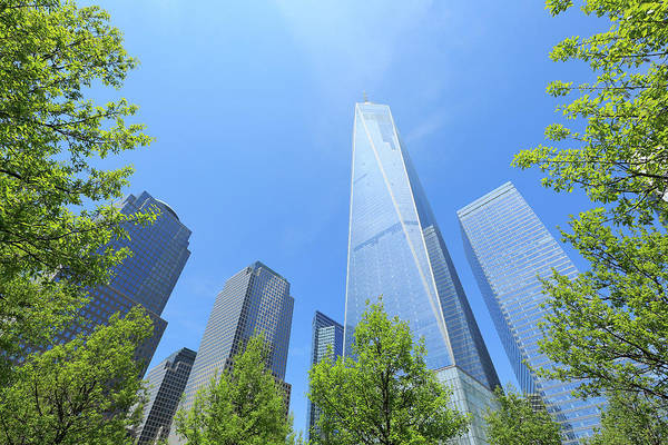 Wall Art - Photograph - Freedom Tower Which Is Surrounded  By by Toshi Sasaki