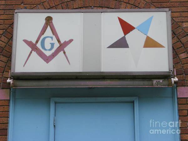 Wall Art - Photograph - Freemasons by Michael Krek
