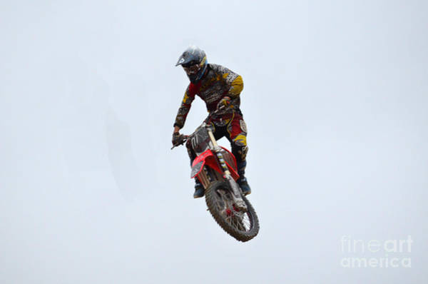 Dirtbike Photograph - Freestyle Motocross by DejaVu Designs