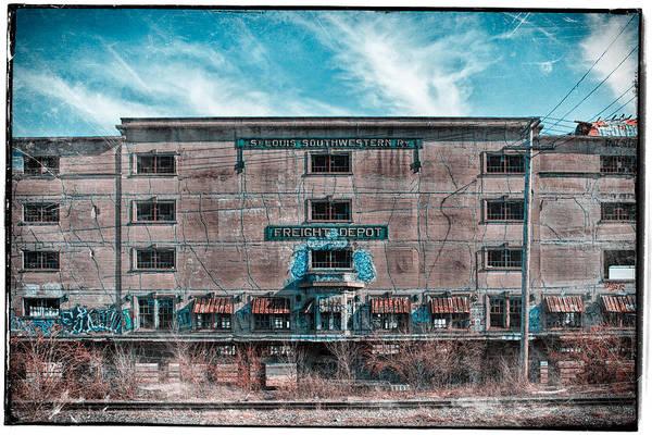 Photograph - Freight Depot by Robert FERD Frank