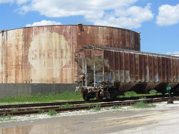 Photograph - Freight Train Cars 4 by Anita Burgermeister