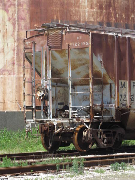 Photograph - Freight Train Wheels 12 by Anita Burgermeister