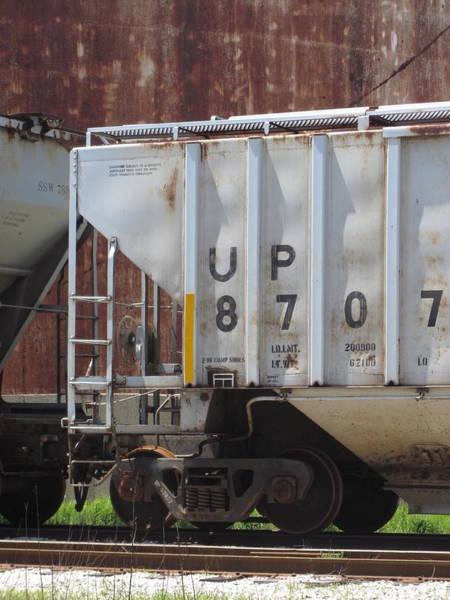 Photograph - Freight Train Wheels 17 by Anita Burgermeister
