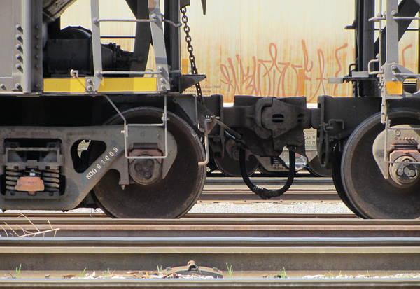 Photograph - Freight Train Wheels 2 by Anita Burgermeister