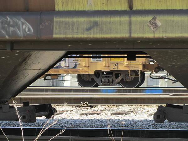 Photograph - Freight Train Wheels 3 by Anita Burgermeister