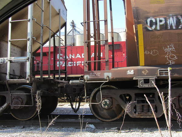 Photograph - Freight Train Wheels 8 by Anita Burgermeister