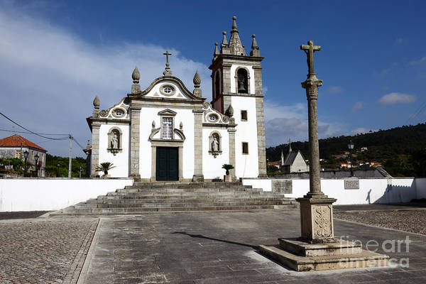 Photograph - Freixieiro De Soutelo Church Portugal by James Brunker