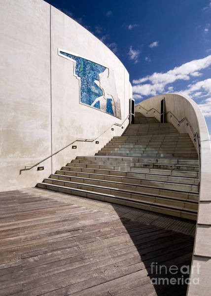 Photograph - Fremantle Maritime Museum Steps 02 by Rick Piper Photography