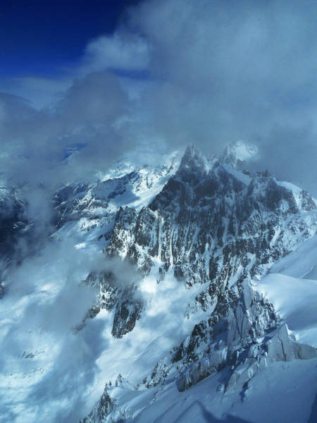 Photograph - French Alps by Frank Wilson