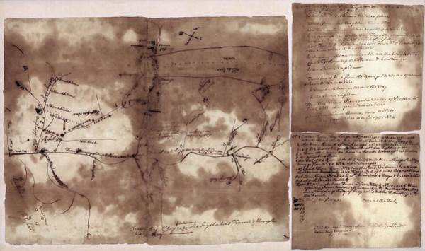 1755 Photograph - French And Indian War Map by Library Of Congress, Geography And Map Division
