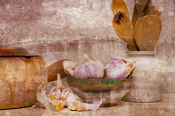 Wooden Spoon Digital Art - French Baking Pot And Spoons I by Ken Evans