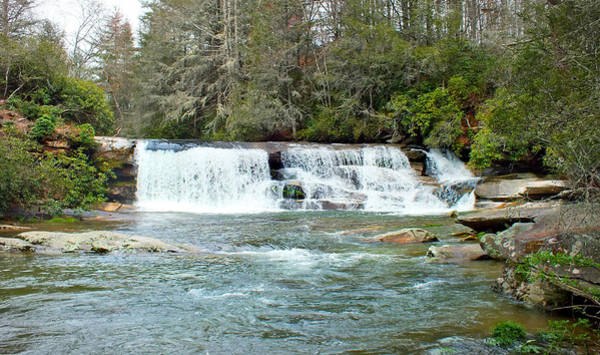 Photograph - French Broad River Waterfall At Mill Shoals by Duane McCullough