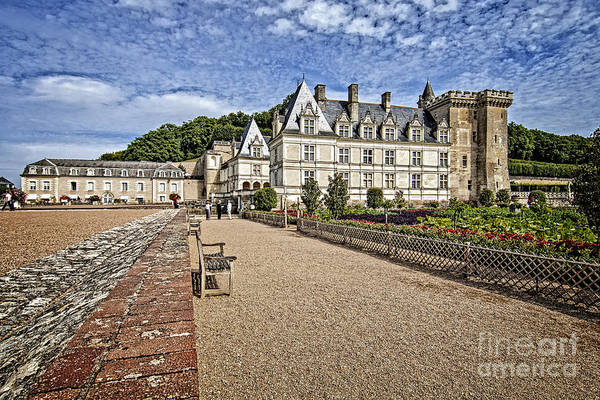 Pyrography - French Castle-2 by Mauro Celotti