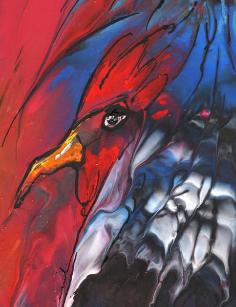 Painting - French Cokerel by Miki De Goodaboom
