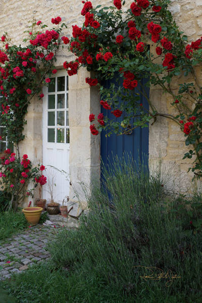 Brillante Photograph - French Country Cottage by Roxanne Brillante-Justice