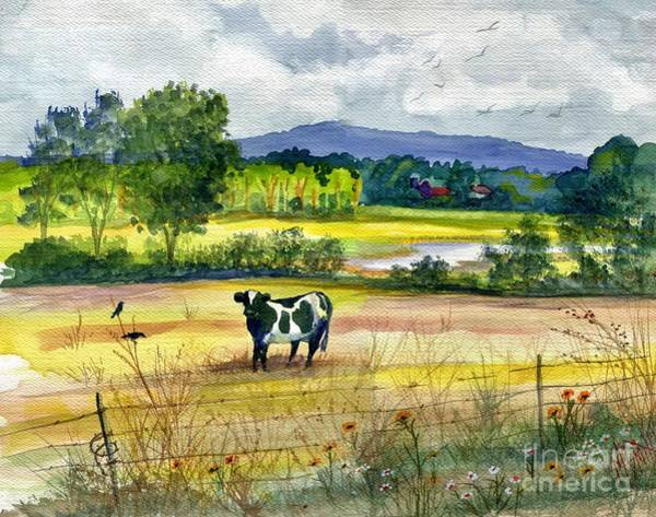 Painting - French Creek Farm by Marilyn Smith