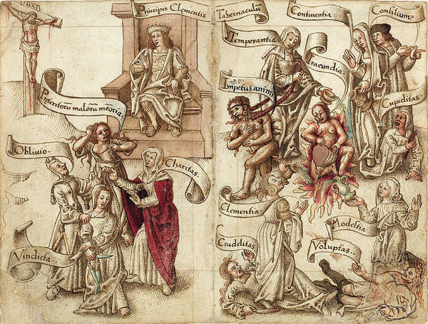 Ashes Drawing - French Early 16th Century, Obliterate The Trace Of The Pot by Quint Lox
