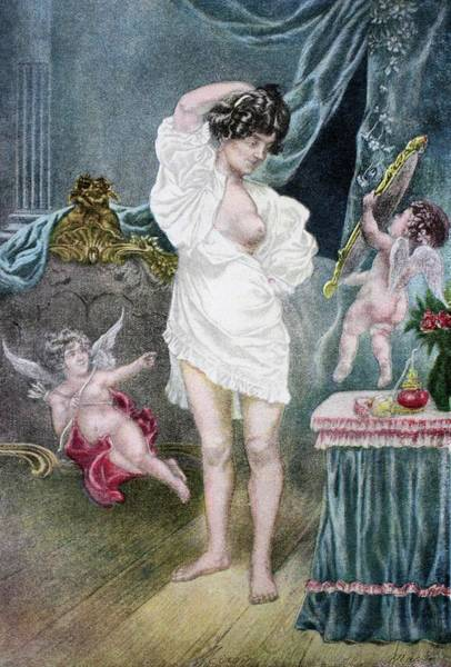 Putto Photograph - French Erotica by Bildagentur-online/th Foto/science Photo Library