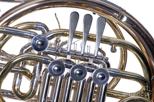 Photograph - French Horn Rotors Classic Photograph In Color 3438.02 by M K Miller